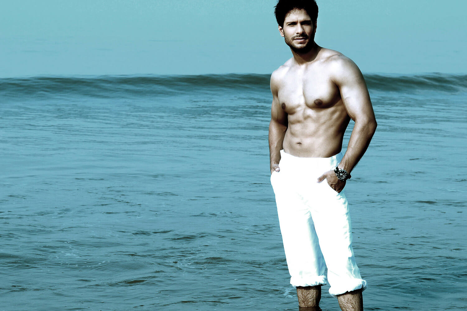 fitness model male india