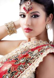indian jewellery models photography