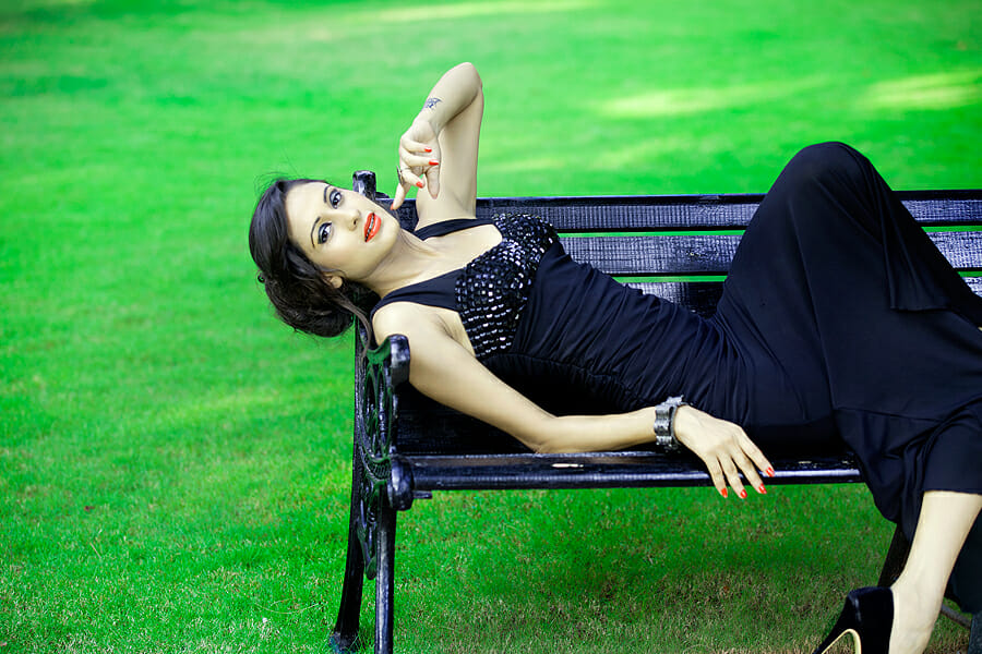 top indian fashion models